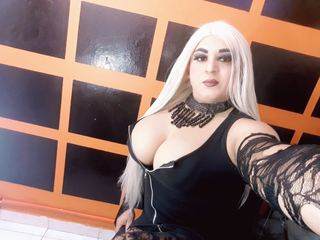 I am a dominant girl, willing to please my cock hungry slaves, kneel down my slave open your mouth and take your mistress`s cock now. I have a lot of cum to feed you all day.