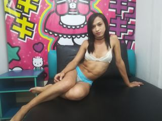 I am a hot trans I like to show my naked body on camera and masturbate for you